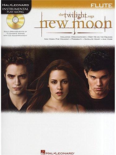 Hal Leonard Instrumental Play-Along: Twilight - New Moon (Flute). Partitions, CD pour Flûte Traversière