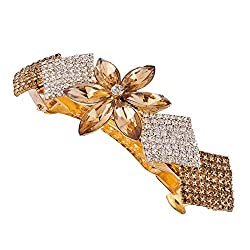 Accessher designer studded back Hair clip/ Hair Barrette/ Hair pin hair accessories for Women