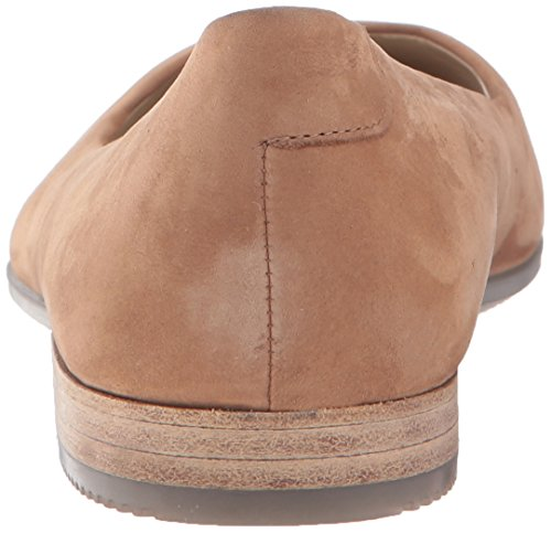 Ecco Shape Pointy Ballerina, Mocassini Donna Marrone (Camel)