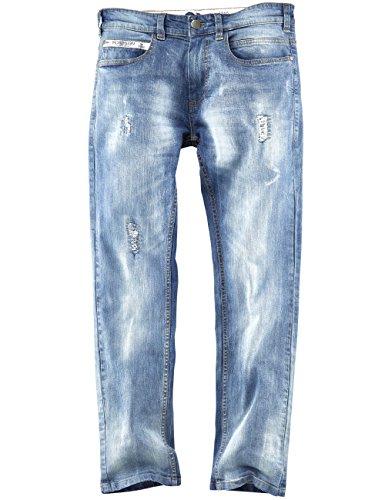 ROADSIGN australia 5-Pocket Jeans Wilderness Coastwalk blau / denim