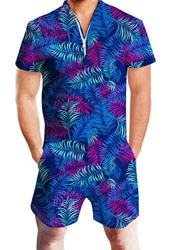 ise Urlaub Jumpsuit Anzug Hawaii Stil Hosen Kleidung Outfits (Hawaii-party-outfits)