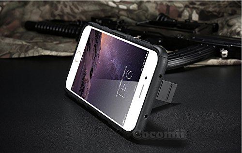 iPhone 8 / iPhone 7 Custodia, Cocomii Robot Armor NEW [Heavy Duty] Premium Belt Clip Holster Kickstand Shockproof Hard Bumper Shell [Military Defender] Full Body Dual Layer Rugged Cover