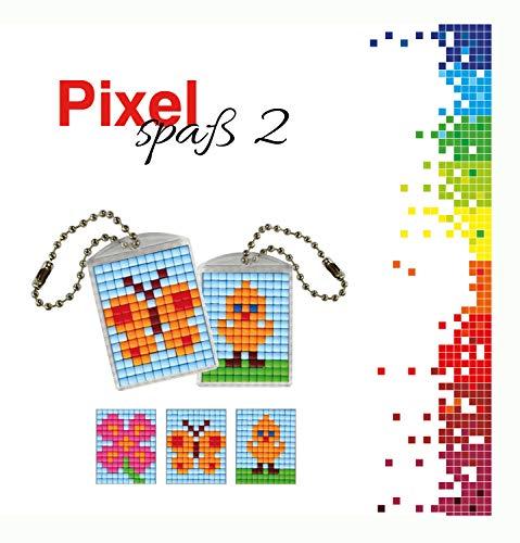 Pracht Creatives Hobby P90021-00505 - Juego de Manualidades para Manualidades (2 medallones, Llavero, para niños, niños y niñas, como pequeño Regalo, para cumpleaños Infantiles)
