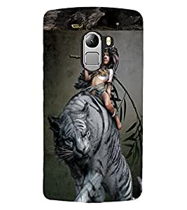 ColourCraft Mogali Design Back Case Cover for LENOVO VIBE K4 NOTE