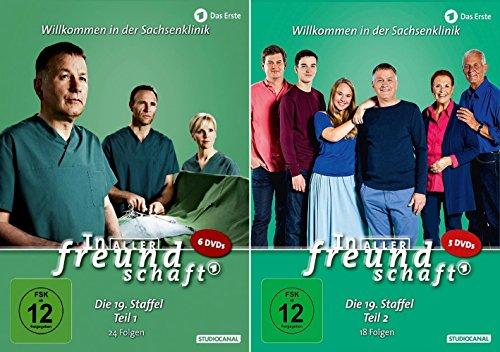 Produktbild In aller Freundschaft - Die Komplette Staffel 19 (19.1+19.2) im Set - Deutsche Originalware [11 DVDs]