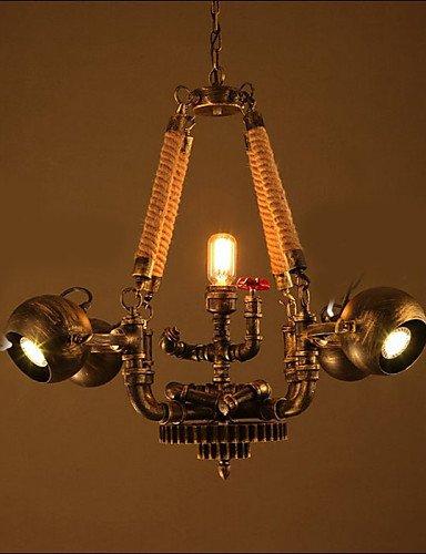 Illuminazione jiaily Internet Cafe Bar Designer modelli tubo dello spago , Pendente bianco (Modello Di Olio Di Vetro Lampada)