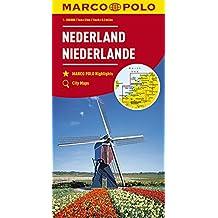 MARCO POLO Karte Niederlande 1:200 000 (MARCO POLO Karten 1:200.000)