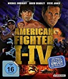 American Fighter 1-4 uncut [Blu-ray, 4 Discs]