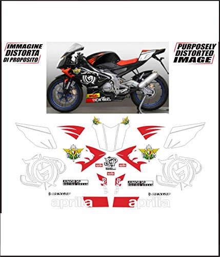 Kit Adesivi Decal Stickers Aprilia Rs 125 Racing Dream Fim Jpg Ability To Customize The Colors