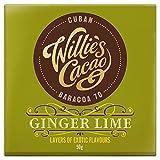 Willie's Ginger lime dark chocolate bar