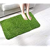 Enyra Homes Anti Slip Gel Back Artificial Grass Door Mat | Exclusive Product on Amazon | 40cm x 60cm | Best Door Mat in Class Home Living and Home Decor| Guaranteed Satisfaction