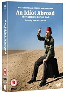 An Idiot Abroad - Series 1- 2 [DVD]