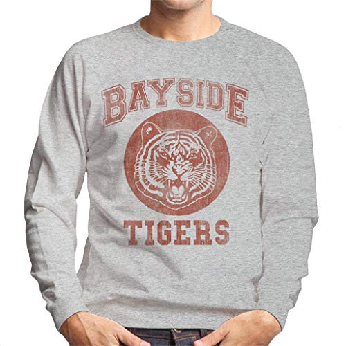 Cloud City 7 Saved by The Bell Inspired Bayside Tigers Men's Sweatshirt -