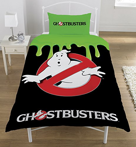 Official Ghostbusters Classic 1980s Single Duvet Set,