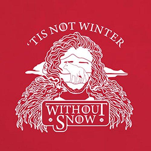 GoT: Winter without Snow - Herren T-Shirt Orange