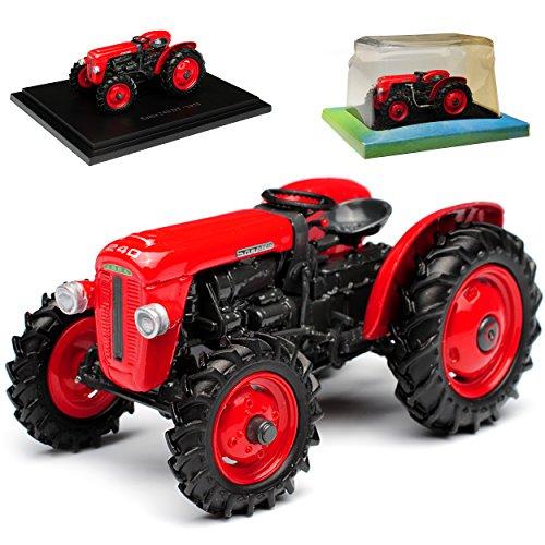 Ixo Same 240 DT Traktor Rot 1/43 Modell Auto