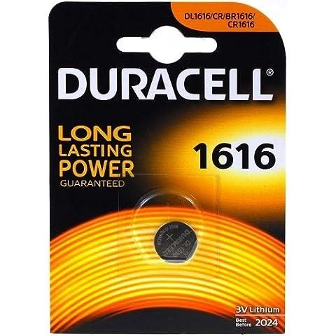Pile-bouton lithium Duracell CR1616 (1 unité sous blister)