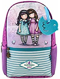 Mochila Escolar Pequeña Gorjuss - Friends Walk Together
