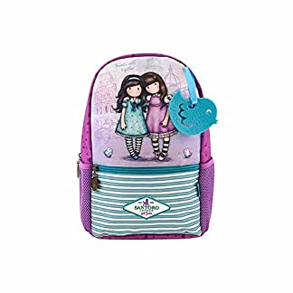Gorjuss – Mochila Escolar Pequeña Gorjuss Friends Walk Together – -5% En Libros
