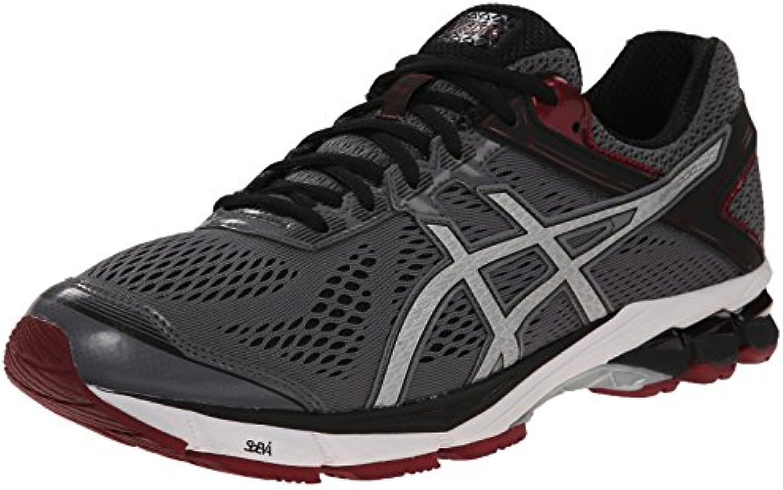 Zapatillas de running GT 1000 4 para hombre, Carbono / Plateado / Marr¨®n, 12.5 M US