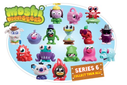Moshi Monsters - Personaggi assortiti collezionabili, serie 6