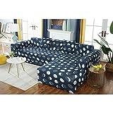 Gxzdfdztygh Conjunto de sofás Patrón de Luna Flexible Slipcover 1, 2, 3, 4 Cojín Multifuncional for sofá Cubierta de Muebles de Sala (Color : Sofa Cover, Size : 90 * 140 cm)