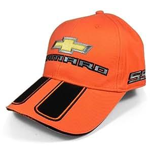 2010Camaro Rally Stripe Orange Casquette de baseball