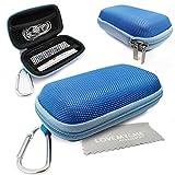 Stylebitz / Étui rigide pour MP3 + écouteurs, mousqueton en métal pour Apple iPod...