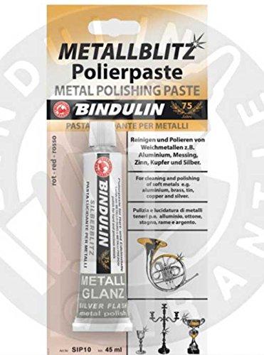 Metallblitz Polierpaste Metall 45 ml Tube SB (Roter Pool Tube)