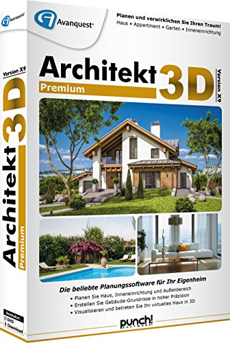 Avanquest Architekt 3D X9 Premium Software (Wartung Software)