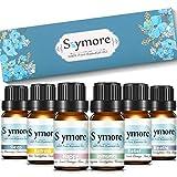Skymore Top 6 Reine Duftöle Geschenk Set, 100% Pure Ätherische Öle, 6 Effekts Name (Refresh, Sleep, Immunity, Relaxation, Decompression, Breathe), Raumdüfte für Aromatherapie/Diffuser Geeignet, 6x10ml