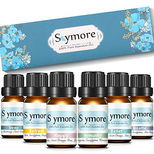 Skymore Skymore top 6 reine duftöle geschenk set 100% pure Ätherische Öle 6 effekts name refresh sleep immunity relaxation decompression breathe raumdüfte für aromatherapiediffuser geeignet 6x10ml