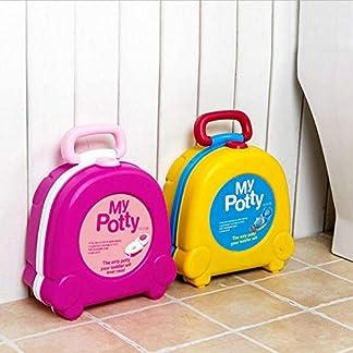 513KsERMTJL. SS324  - Asiento Inodoro Portátil Para Niños Bebés, Tapa WC Plegable Para Los Niños De Viajes,Beatie Asiento Del Infantil Inodoro