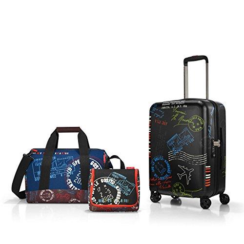 Reisenthel travel set 3 Koffer-Set, 55 cm, 18 L, Special Edition Stamps