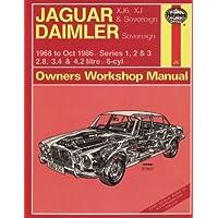 Jaguar XJ6 and XJ Sovereign/Daimler Sovereign 1968-86
