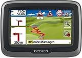 Becker mamba.4 LMU plus Motorrad-Navigationsgerät (Blendfreies 10,9 cm (4,3 Zoll) Display, 47 Länder Europas, kurvenreiche Routen) schwarz