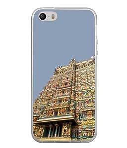 PrintVisa Godess Parwati Temple High Gloss Designer Back Case Cover for Apple iPhone SE