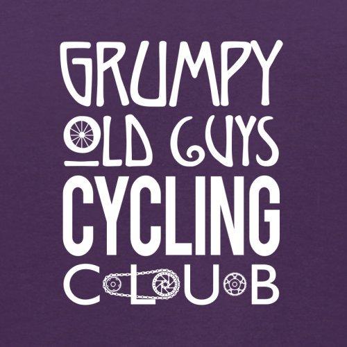 Grumpy Guys Cycling Club - Herren T-Shirt - 13 Farben Lila