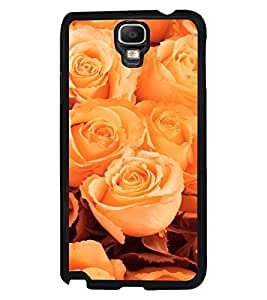 Fuson 2D Printed Flower Designer back case cover for Samsung Galaxy Note 3 Neo - D4325