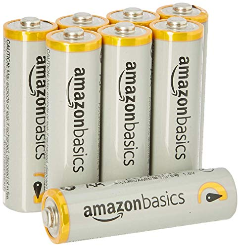 AmazonBasics AA Performance Alkaline Non-Rechargeable Batteries (8-Pack) - Appearance May Vary Image 2