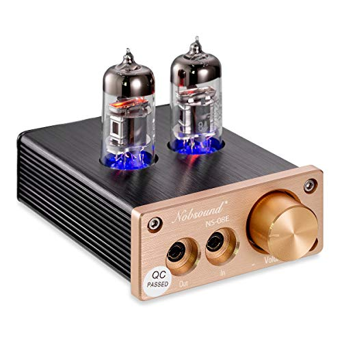 #04 Nobsound HiFi Mini Valve Tube Headphone Amplifier Stereo amp Audio Kopfhörerverstärker