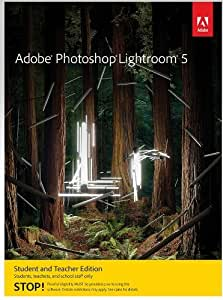 Adobe Photoshop Lightroom 5, Student and Teacher Edition (PC) [Download]