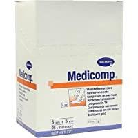 MEDICOMP Kompressen 5x5 cm steril 50 St Kompressen preisvergleich bei billige-tabletten.eu
