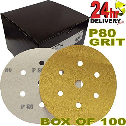 pro-range-gold-2362815060uk-mirka-plain-boxed-velcro-da-6-150mm-sanding-discs-p80-grit-pack-of-100-6