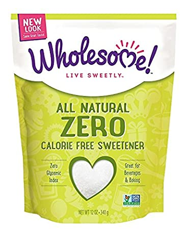 Wholesome Sweeteners Natural Zero Pouch (8x12 Oz)