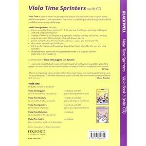Viola Time Sprinters + CD: A third book of pieces for viola