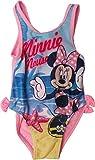 Disney Minnie Maus Badeanzug - Mit Minnie am Strand - Rosa/Mehrfarbig