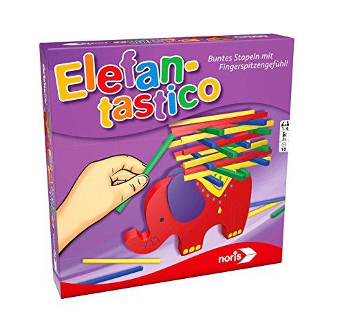 Noris Spiele 606011640 Elefantastico, Plättchen