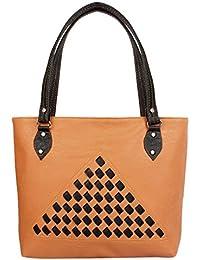 Shopperstail Casual Checks Shoulder Bag Handbag For Women & Girls