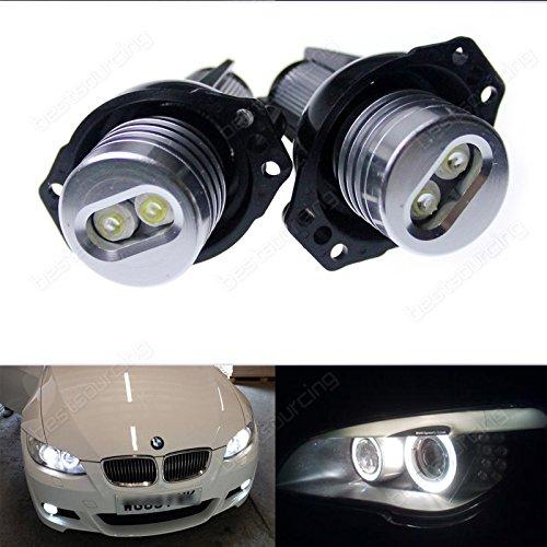 Preisvergleich Produktbild AR 12W Canbus BMW 3er E90 E91 LED ANGEL EYES Licht STANDLICHT MARKER Ringe Lampen
